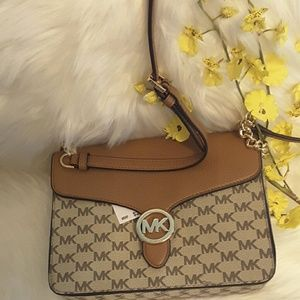 09b4d964e355 Michael kors Bags - Michael kors Vanna md shoulder flap genuine leathe